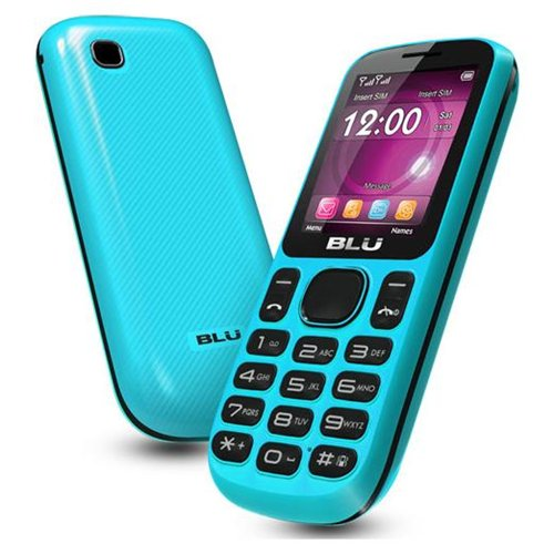 New Blu Jenny T172I Unlocked GSM Phone Dual Sim VGA Camera Video