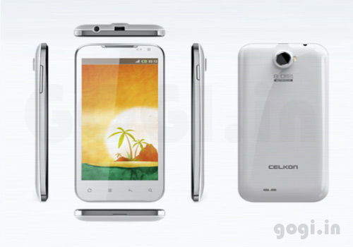 Celkon A22 1GHz dual core smartphone to hit the Indian markets