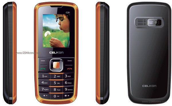 Celkon C20 pictures  official photos