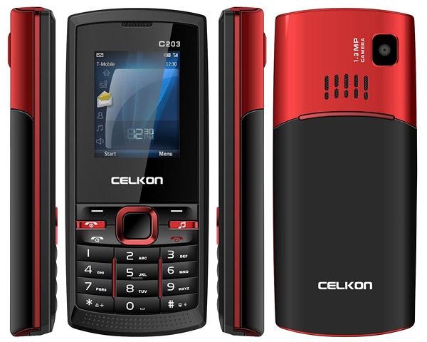 Celkon C203 pictures  official photos