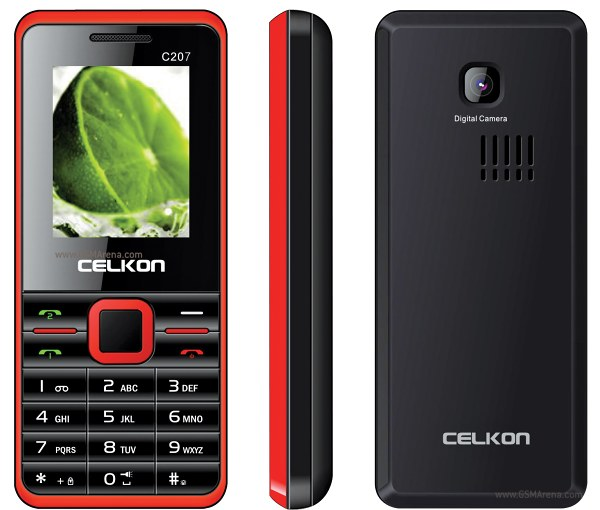 Celkon C207 pictures  official photos