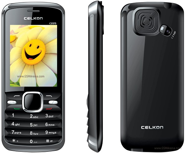 Celkon C225 pictures  official photos