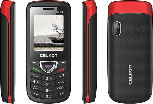 Celkon C359 pictures  official photos