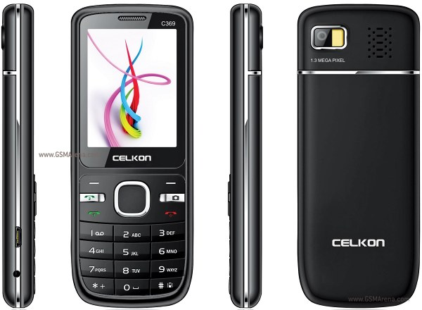 Celkon C369 pictures  official photos