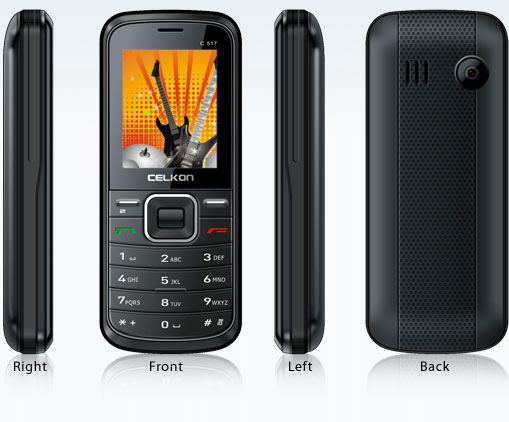 Celkon C517   Full Mobile Phone Specifications  Price in India  Mumbai