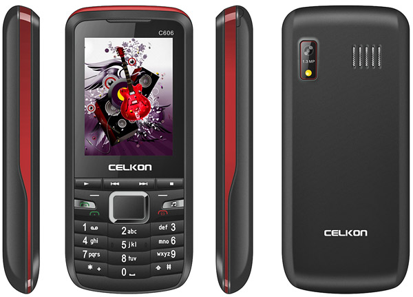 Celkon C606 pictures  official photos