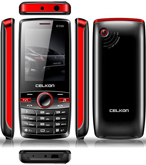 Celkon C705 pictures  official photos