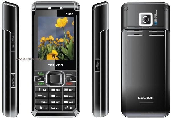 Celkon C867 pictures  official photos