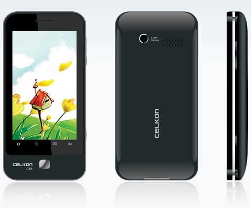 Celkon C88   Full Mobile Phone Specifications  Price in India  Mumbai