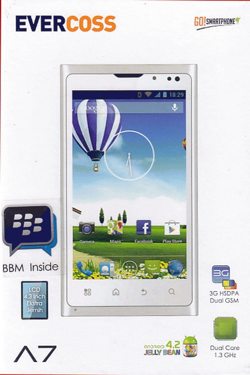 Evercoss A7 Harga Spesifikasi  HP Android Jelly Bean Murah   Teknohp