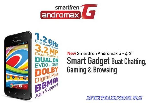 Gambar Smartfren Andromax G (Hisense AD687G)