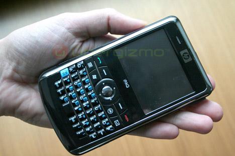 HP iPaq 910c Hands On   Ubergizmo