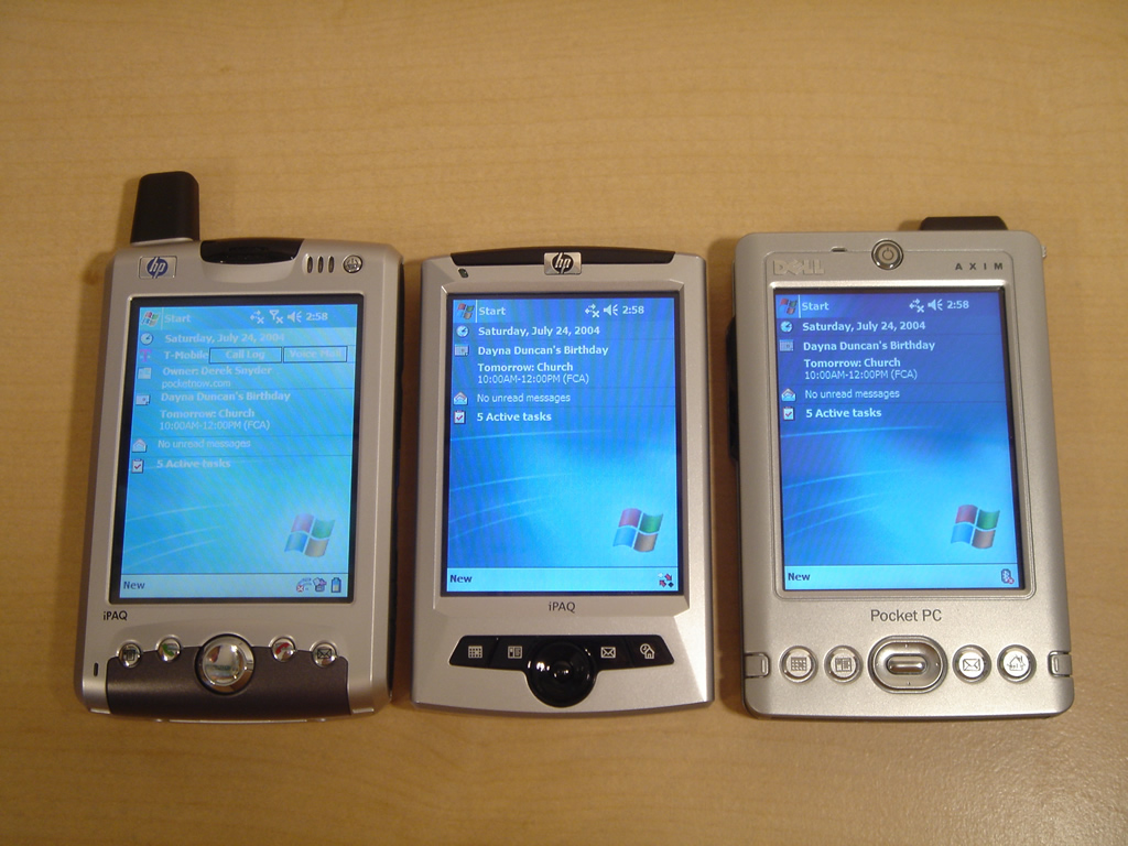 HP iPAQ rz1715 Pocket PC   Pocketnow