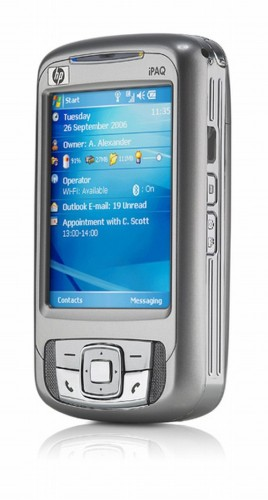 HP iPaq rw6815 Personal Messenger review   Mobile Phone   Trusted