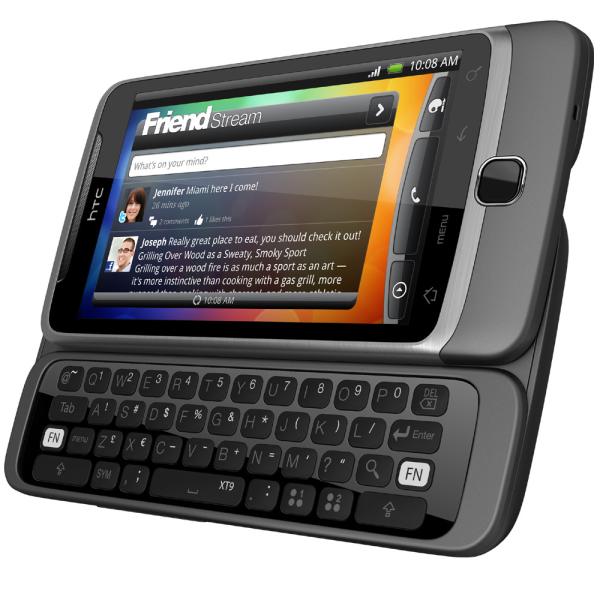 HTC Desire Z  Vision  Smartphones   HTC Mobile Phones   HTC Desire