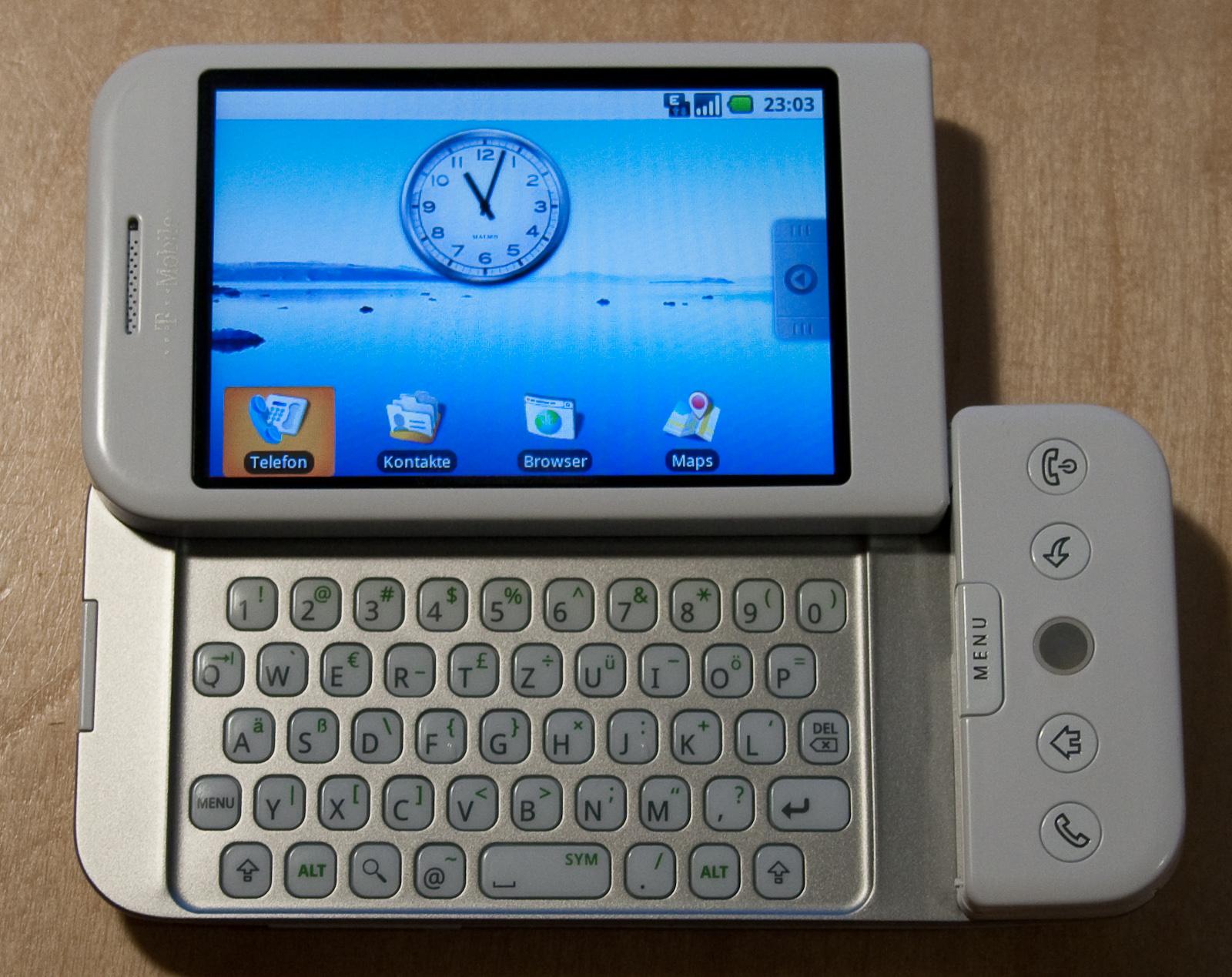 File HTC Dream opened jpg   Wikimedia Commons