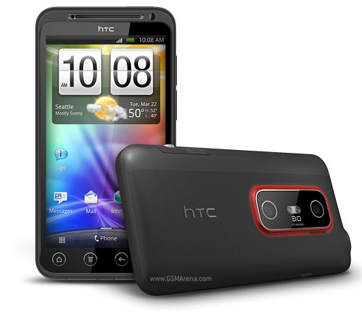 HTC EVO 3D   Full phone specifications