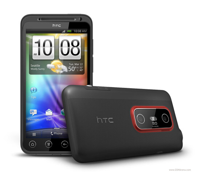 HTC Evo 3D CDMA   Box Mobile Communications