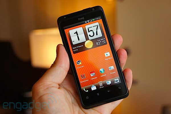 HTC EVO Design 4G for Boost Mobile hands