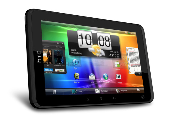 HTC Introduces the Evo View 4G Tablet   TechHive