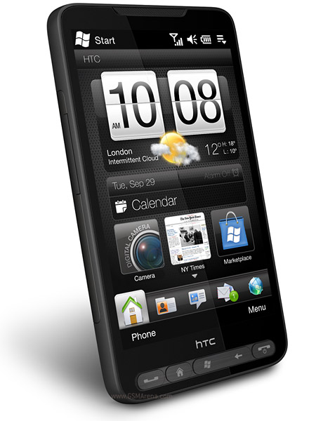 HTC HD2   Full phone specifications
