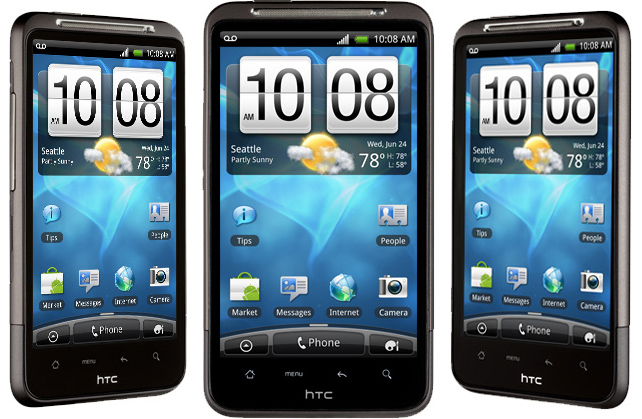 HTC Sense 3 0 and Android 2 3 5 Gingerbread on HTC Inspire 4G