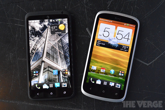 HTC One VX and One X  for ATT with Sense 4  give the One series a