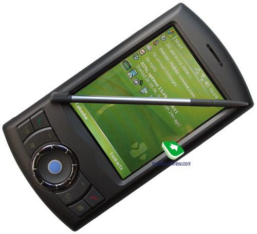 Mobile review com Review of navigation communicator HTC P3300