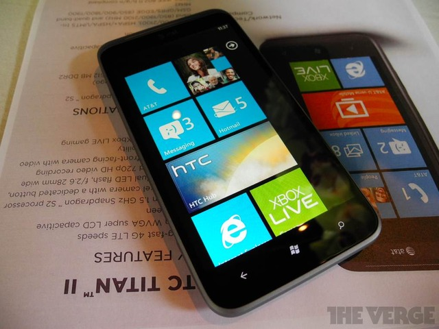 HTC Titan II for ATT first hands on   The Verge