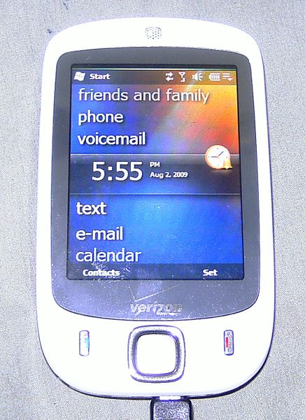 HTC Touch   Wikipedia  the free encyclopedia
