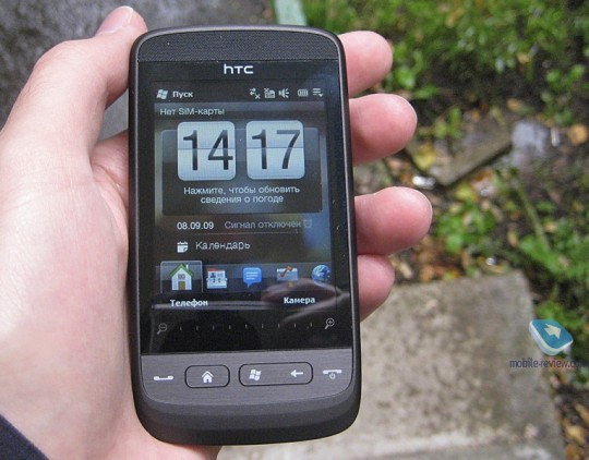 HTC Touch2 gets Russian review  decent for entry level   SlashGear