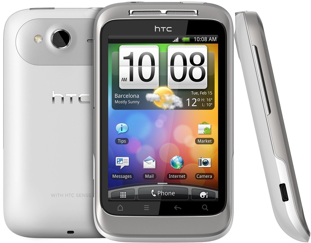 HTC Wildfire S White  SKmobile