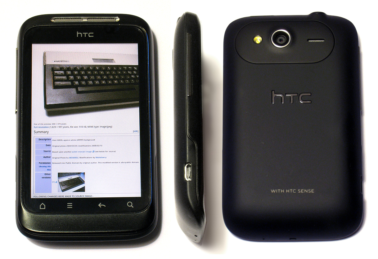 HTC Wildfire S   Wikipedia  the free encyclopedia