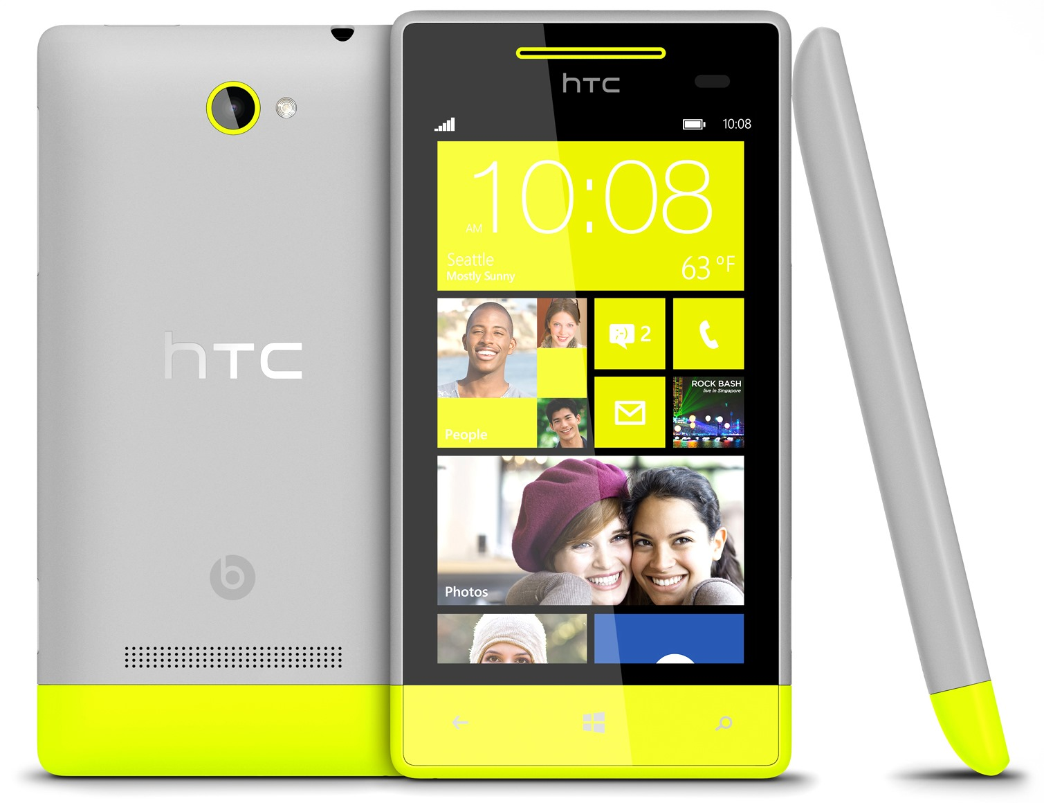 HTC Windows Phone 8S Yellow   SiliconANGLE