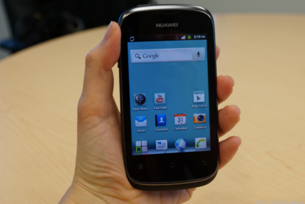 Low price Huawei Ascend Y joins U S  Cellular  hands on    Dialed