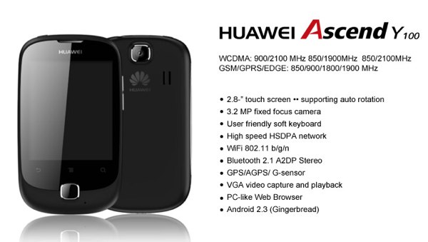 Huawei Ascend Y100 Review   AndroidTapp