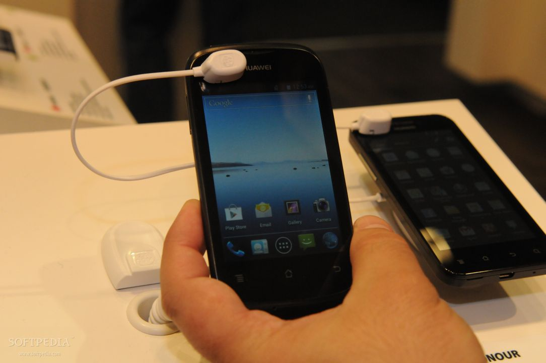 IFA 2012  Huawei Ascend Y201 Pro Hands
