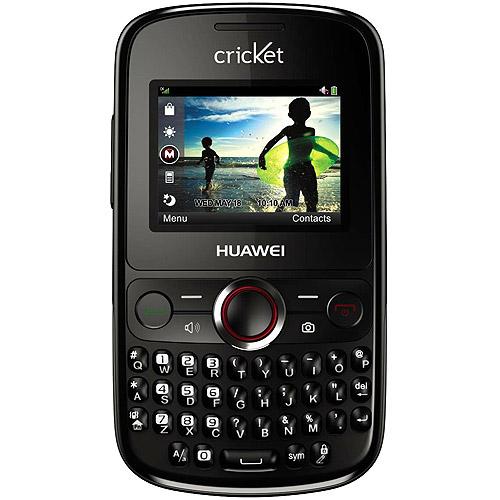 Cricket Huawei Pillar M615 Prepaid Cell Phone   Walmart