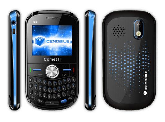 Icemobile Comet II   Specs and Price   Phonegg