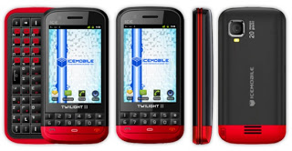 Online manual  Icemobile Twilight II Mobile Phone User Guide