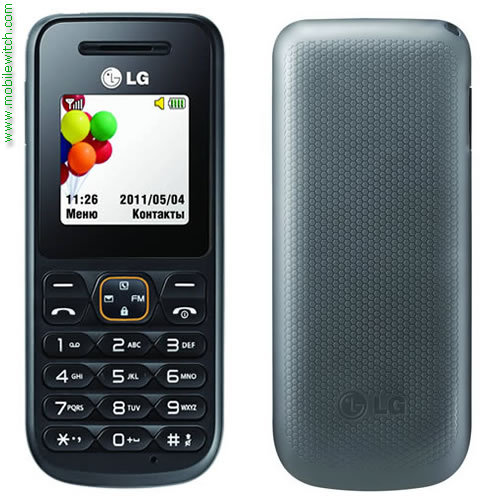 LG A100 pictures  official photos   MobileWitch