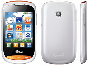 LG Cookie Style T310 White Phone  LG Cookie T310 T Mobile Payg Price