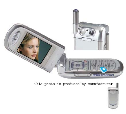 Mobile review com Model line from LG  2003