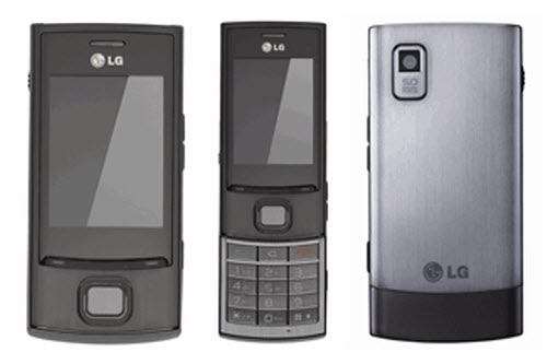 LG Bali GM360  LG GX300 and LG Pure GD550 show up on official LG