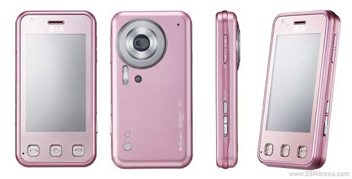 LG KC910i Renoir in tender pink  ladies on focus   GSMArena com news