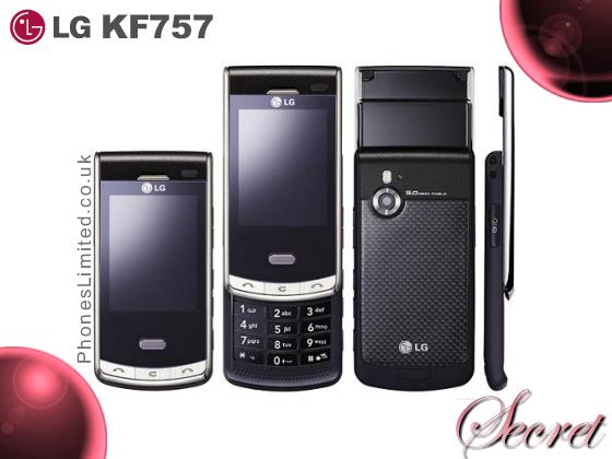 LG KF757   The New LG Secret Phone on Orange UK   Phones Limited