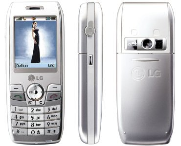 LG L3100 phone photo gallery  official photos
