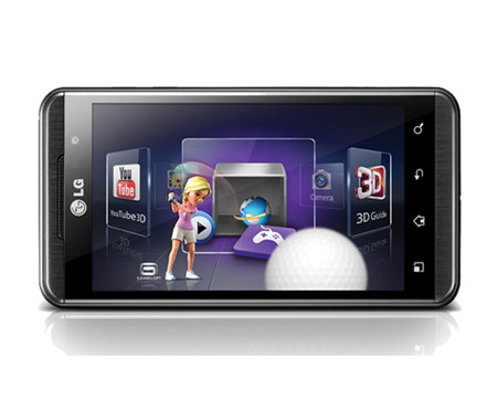 LG Optimus 3D Android Mobile Phone   LG Electronics UK