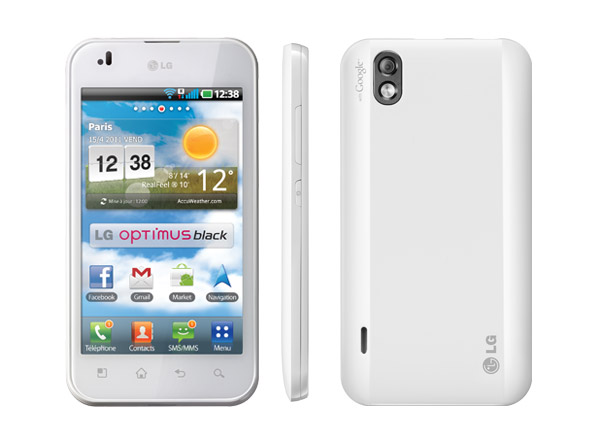 LG Optimus Black White Version  Specifications Features   Price