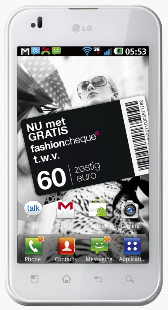 LG Optimus Black  White version    Technical Specifications